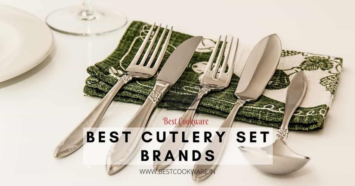 Best Cutlery Set Brands in India